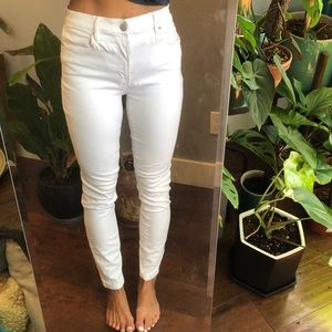 White jeans- Lou and grey